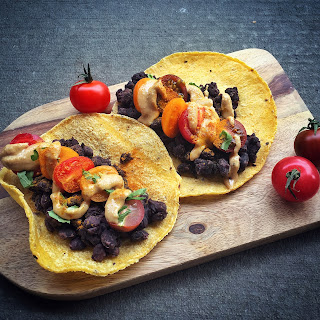 VEGAN Black Bean Mexican Tacos!