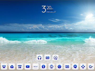 Azer Blue Icon Pack screenshot 6