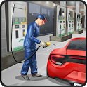 Gas Station Car Mechanic icon