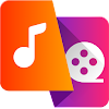 Video to MP3 Converter - mp3 cutter and merger Logo