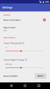 Wear Gesture Control (BETA) screenshot 2