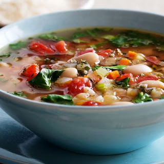 Tuscan Bean Soup with Pasta