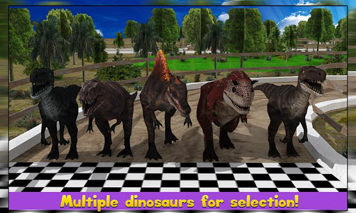3Dレーシング恐竜