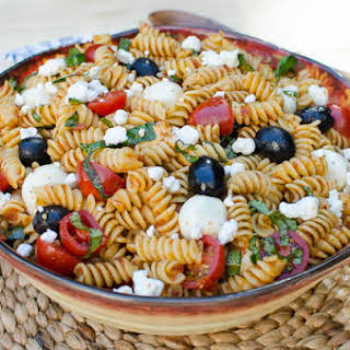 Sun-Dried Tomato Pasta Salad.