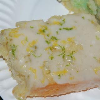 Lemon-Lime Glazed Cake