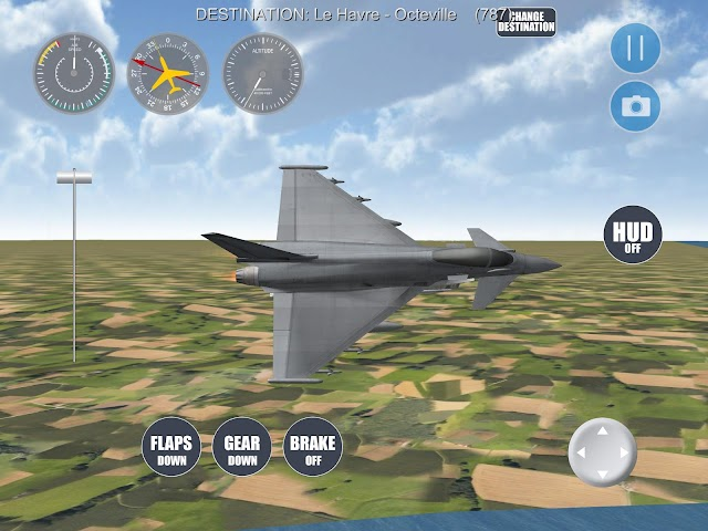 android Airplane Paris Screenshot 6