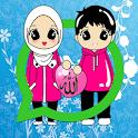 Muslim Hijab Stickers For Whatsapp icon