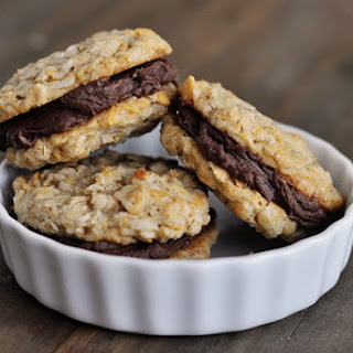Fudge Filled Double Cruncher Cookies.