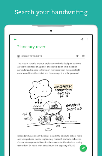 Screenshot 15 for Evernote's Android app'