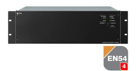 TOA VX-3150DS   Strömförsörjning EN 54