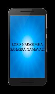 Narsimha Sahasra Namavali - náhled
