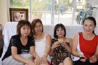 Photo: Xuân Lan từ Úcđến, Kin Hương và Hoài Hương từ San Jose và Dâu CT Hiếu từ San Diego.