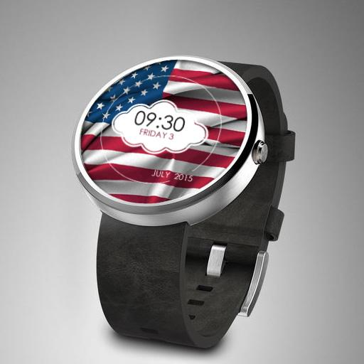 Flags Watch Face
