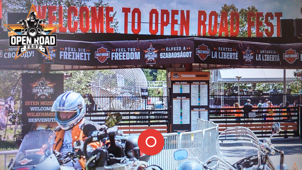 OpenRoadFest- screenshot