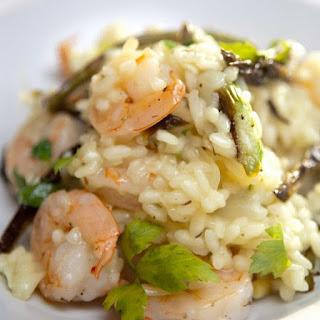 Pressure Cooker Shrimp Risotto.