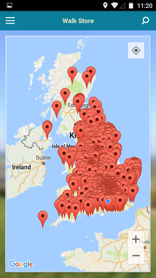 iFootpath - UK Walking Guides- screenshot