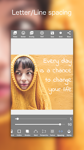 Add Text on Photo: Design Text Style w/ 800+ Fonts Screenshot