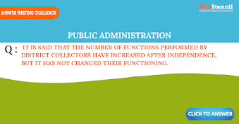 Public Administration Answer Writing Challenge - Question Set 2