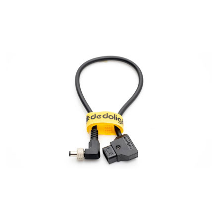 Cable D-Tap to 5,5/2,5mm DC Jack, 28 cm