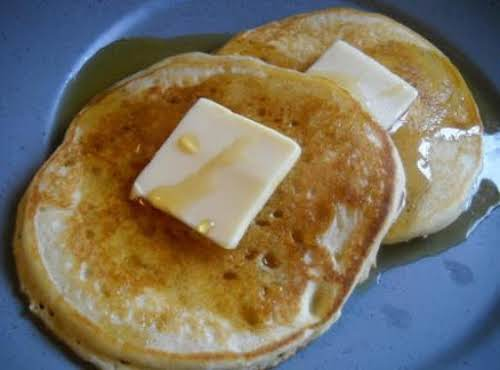 "Fluffy Pancakes""I made these yesterday morning for the kids because they've been..."