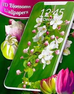 3D Blossoms Live Wallpaper - náhled