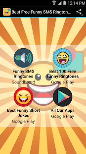 Best Free Funny SMS Ringtones screenshot