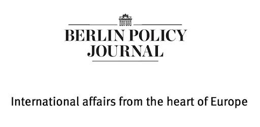 Znalezione obrazy dla zapytania berlin policy journals