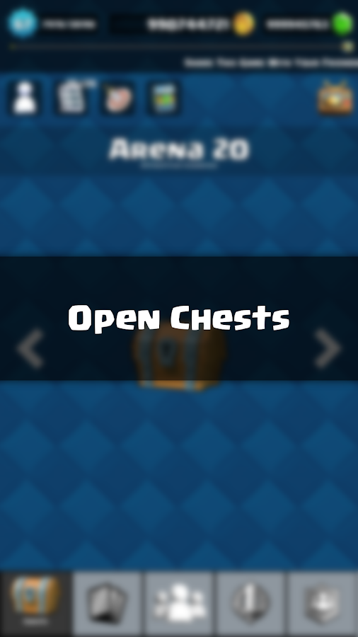 Chests simulator for CR- screenshot