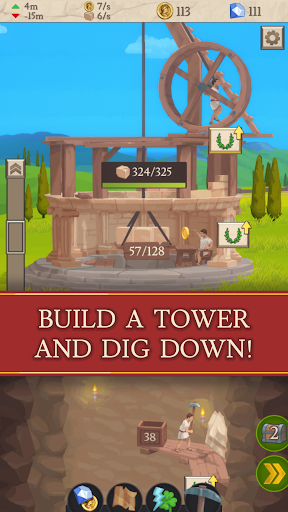 Idle Tower Miner - Mine and Build 1.35 screenshots 1