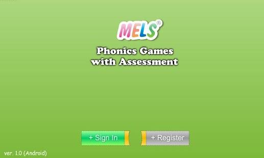 MELS Assessment - náhled