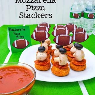 Mozzarella Pizza Stackers Party Snack