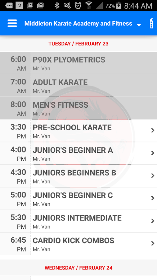 Middleton Karate Academy- screenshot