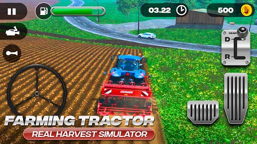Farming Tractor Real Harvest Simulator 2.0 screenshots 9