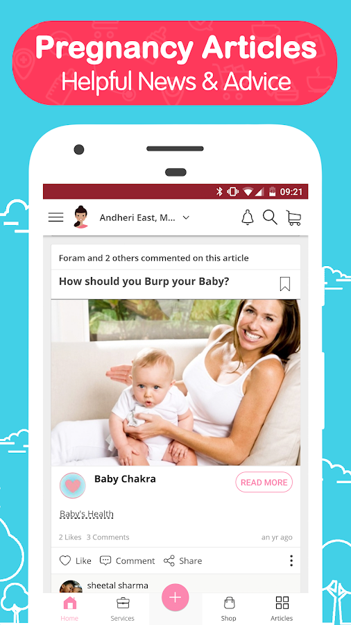 BabyChakra: Pregnancy, Parenting & Childcare App- screenshot