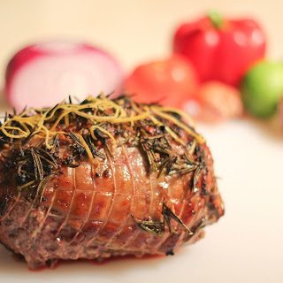 Paleo Greek Roasted Lamb