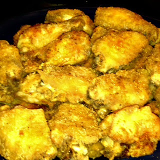 Simple Southern Fried Chicken Wings.