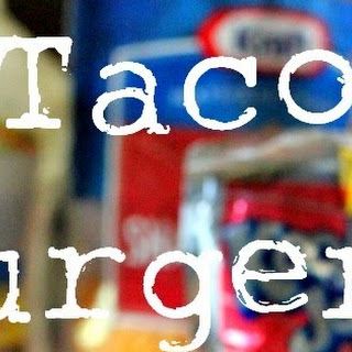 Taco Burgers & Scallion Cilantro Lime Ranch