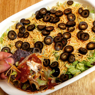 7 Layer Taco Dip Without Refried Beans Recipes.