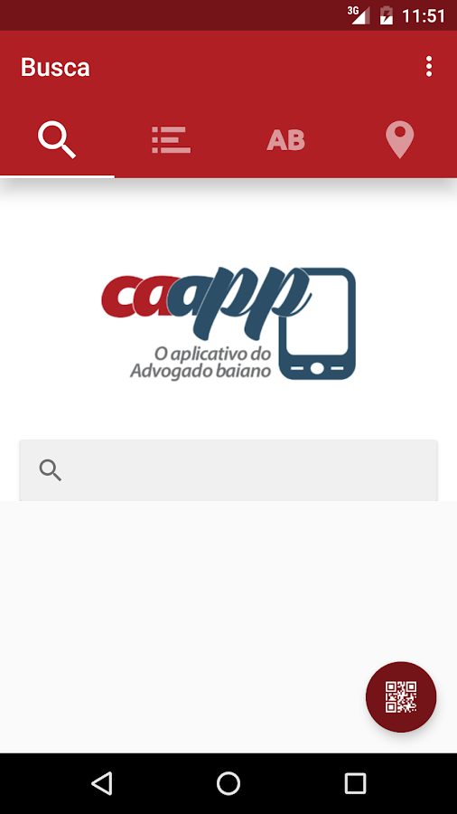 Caapp- screenshot