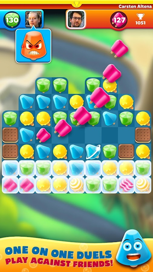 Freezm strategy puzzle game- screenshot