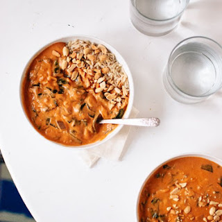 Vegetarian West African Peanut Soup.