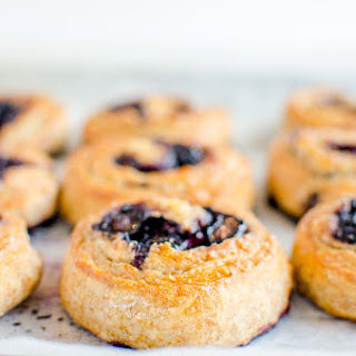 Wholemeal Blueberry Scrolls Recipe
