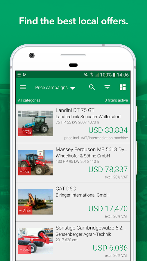Tractor & Agricultural Market- screenshot