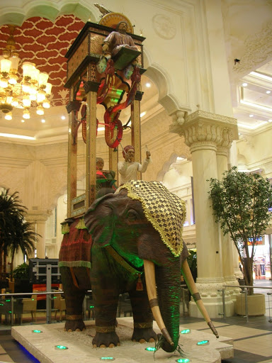 Huge replica of Al-Jazari's Elephant Clock