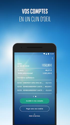 Mes Comptes BNP Paribas Android App Screenshot