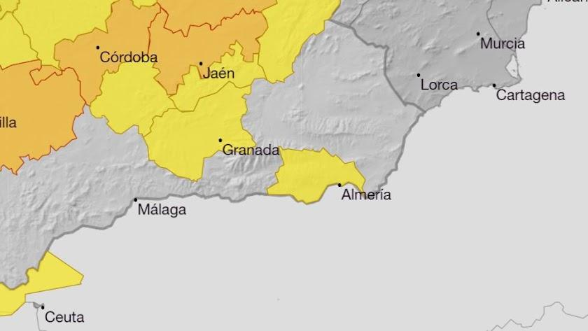 Aviso amarillo para la zona de la capital y el Poniente por altas temperaturas.
