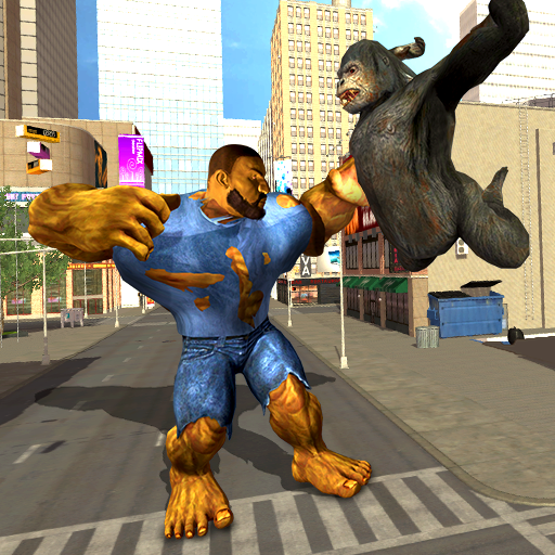 Incredible Monster Vs Apes Attack City Survival