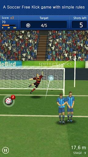 Finger soccer : Free kick for PC