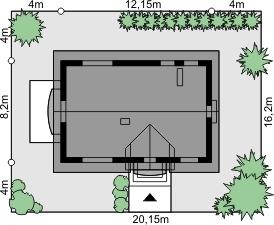 Dom przy Alabastrowej 19 - Sytuacja