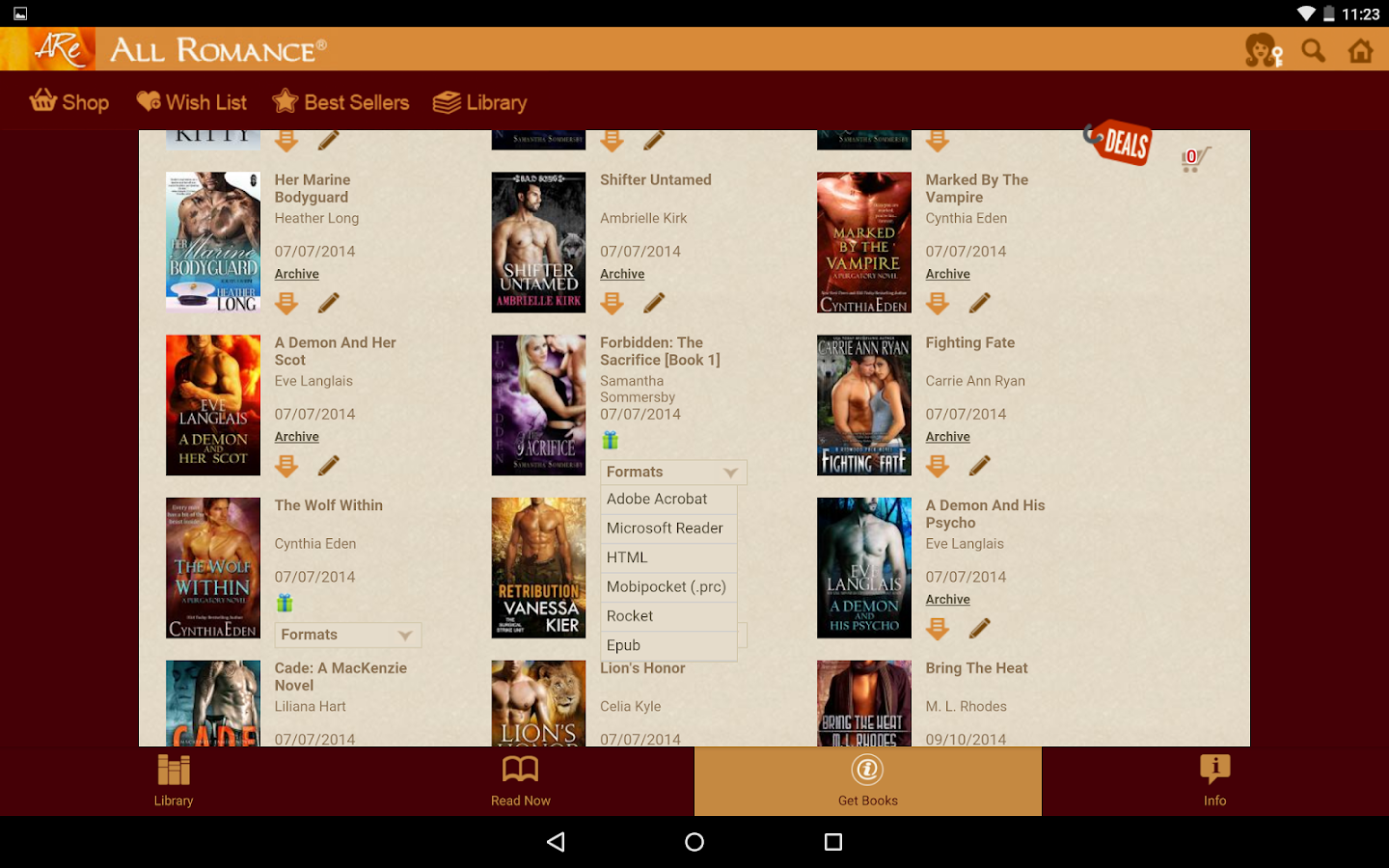 All Romance Reader - eBooks - Android Apps on Google Play